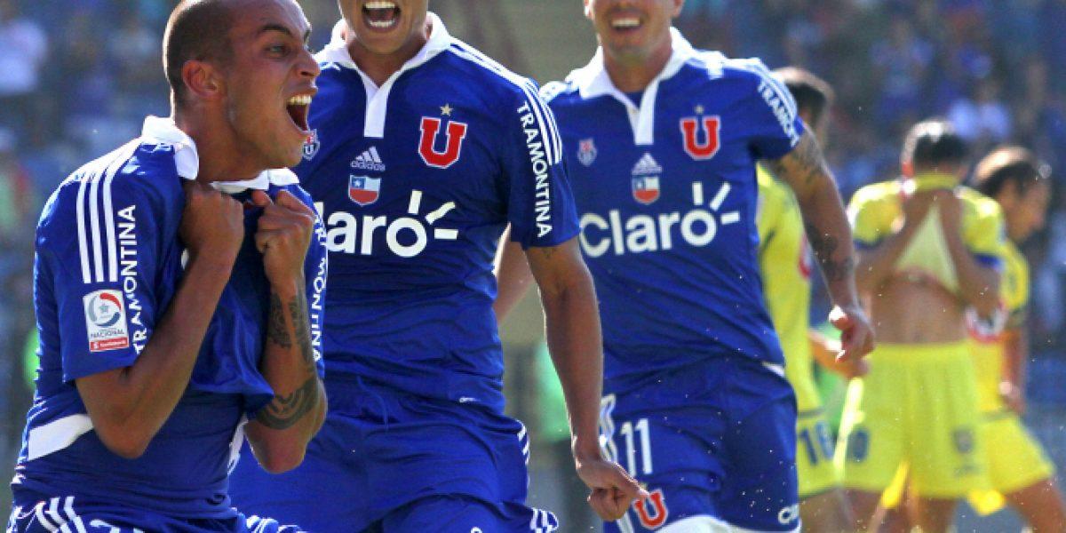 ¡Despertó el león! U. de Chile venció en calidad de visitante a U. de Concepción