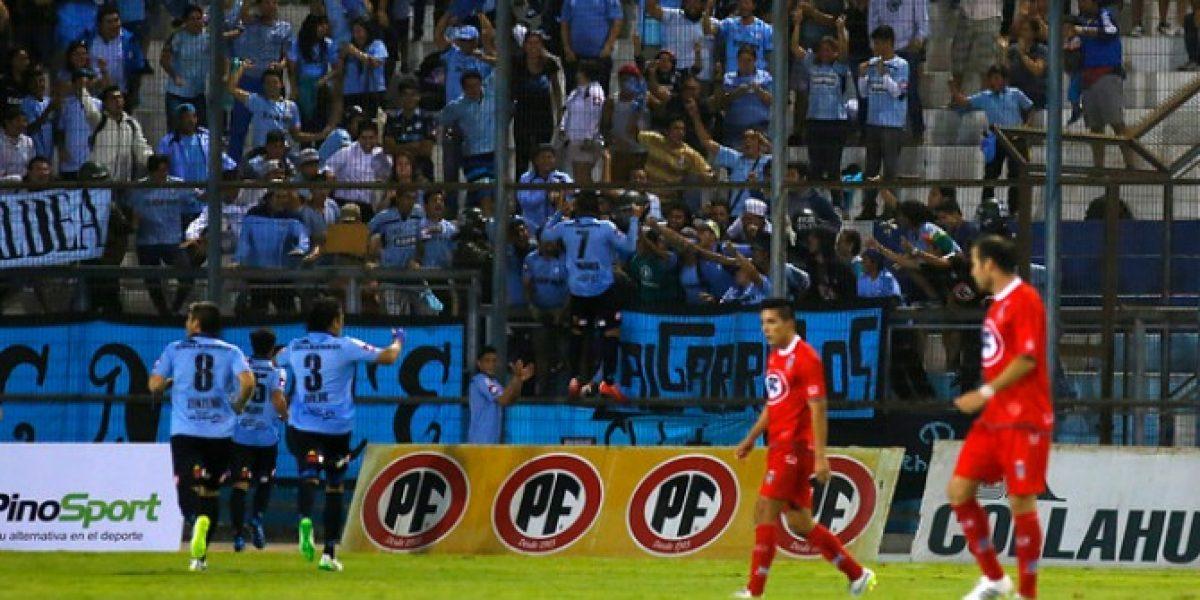 Deportes Iquique bajó a Unión La Calera con Villalobos como figura