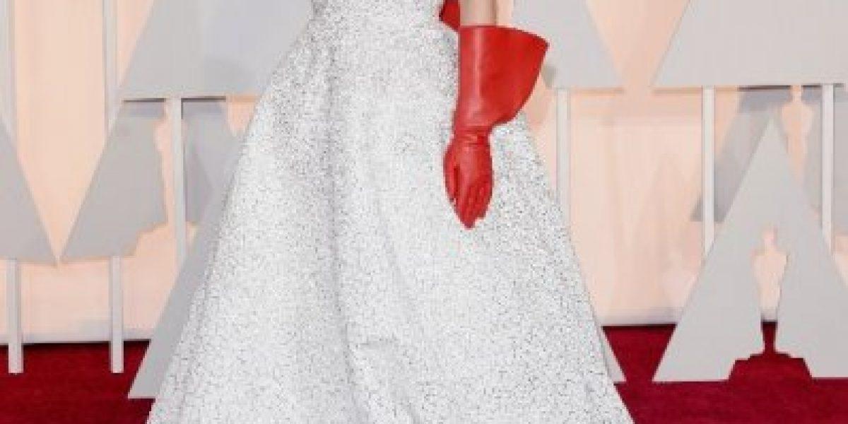 Galería: El vestido con que Lady Gaga acaparó miradas en los #Oscar2015