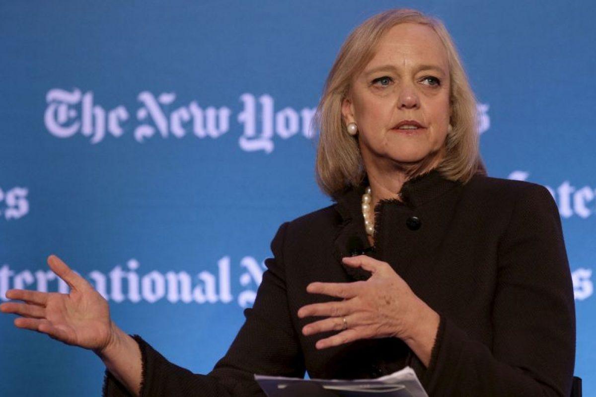 Margaret Whitman- Es la CEO de Hewlett-Packard y ocupa el puesto 17 en la lista de Fortune 500. Whitman, de 58 años, cuenta con una Maestría de la Escuela de Negocios de Harvard. Tiene dos hijos. Foto:Getty. Imagen Por: