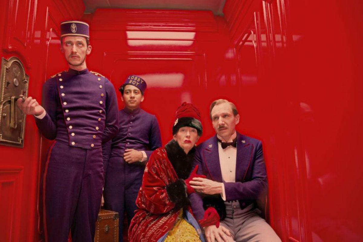 """El Oscar por Producción y diseño fue para """"The Grand Budapest Hotel"""". Imagen Por:"""