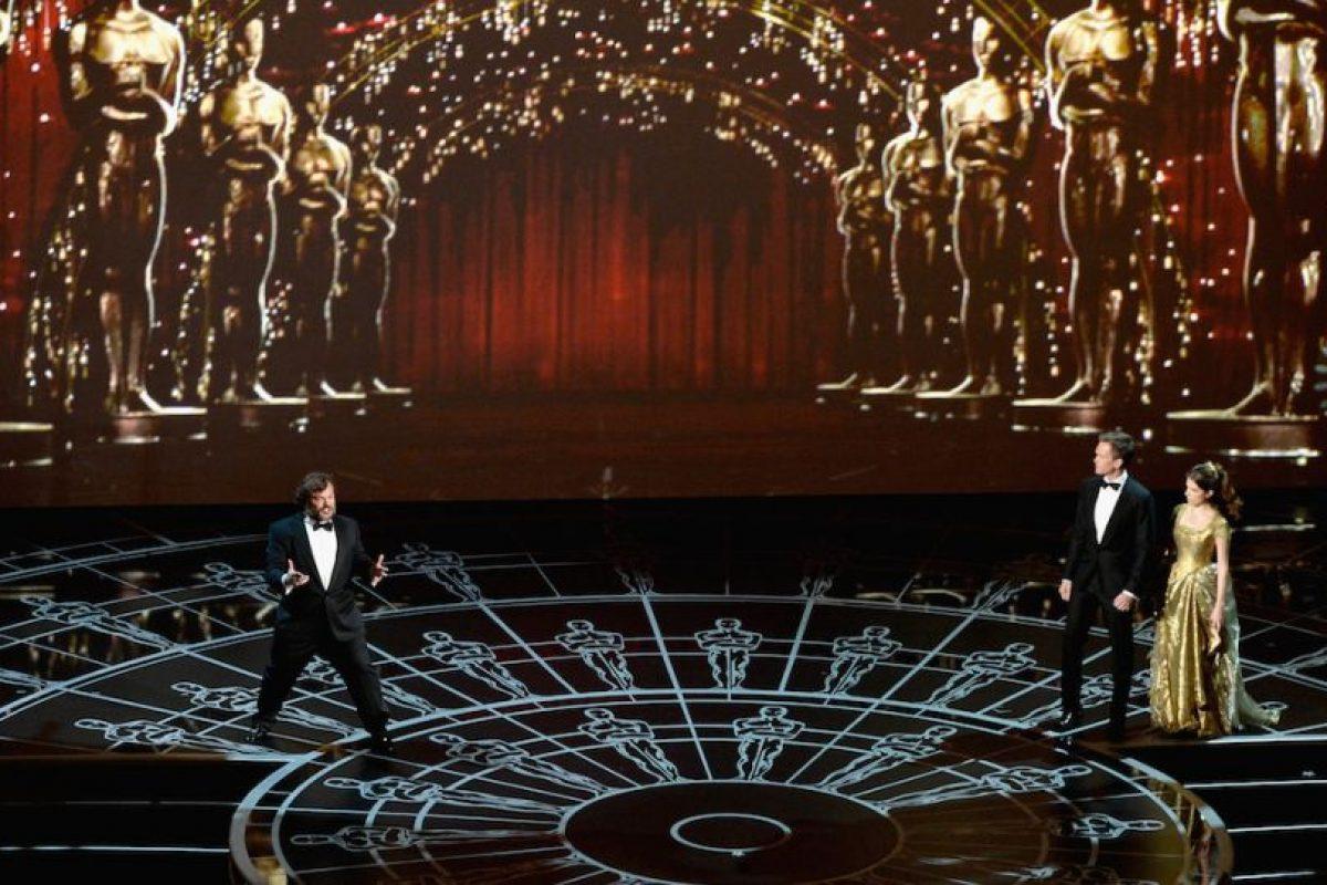 Jack Black en los Oscar 2015. Foto:Getty Images. Imagen Por: