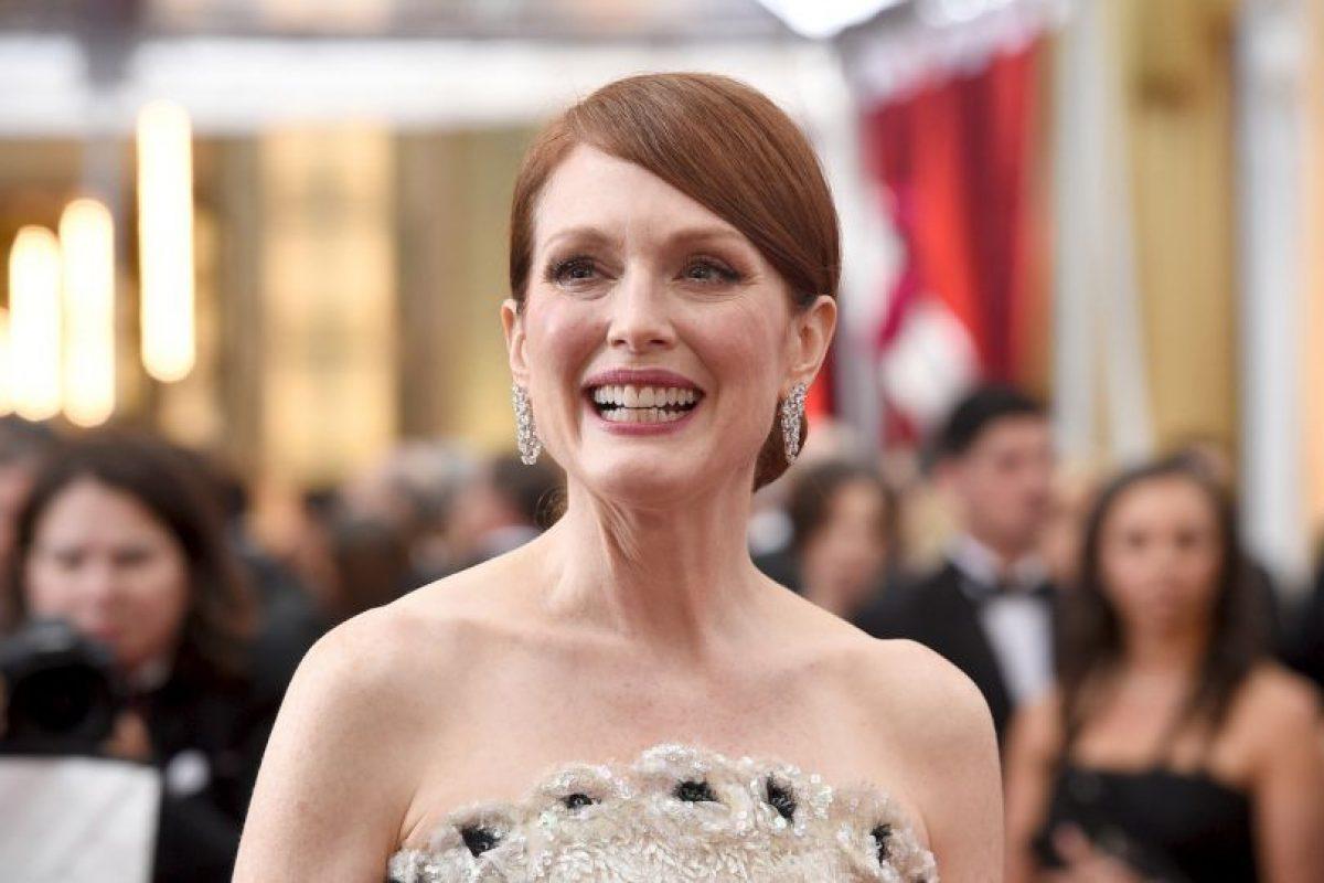 """Julianne Moore ganó el Oscar a Mejor actriz por su papel en """"Still Alice"""" Foto:Getty Images. Imagen Por:"""