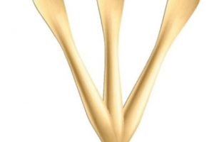 Tenedor de madera fabricado con remanentes de la industria forestal Foto: www.promoverde.cl. Imagen Por: