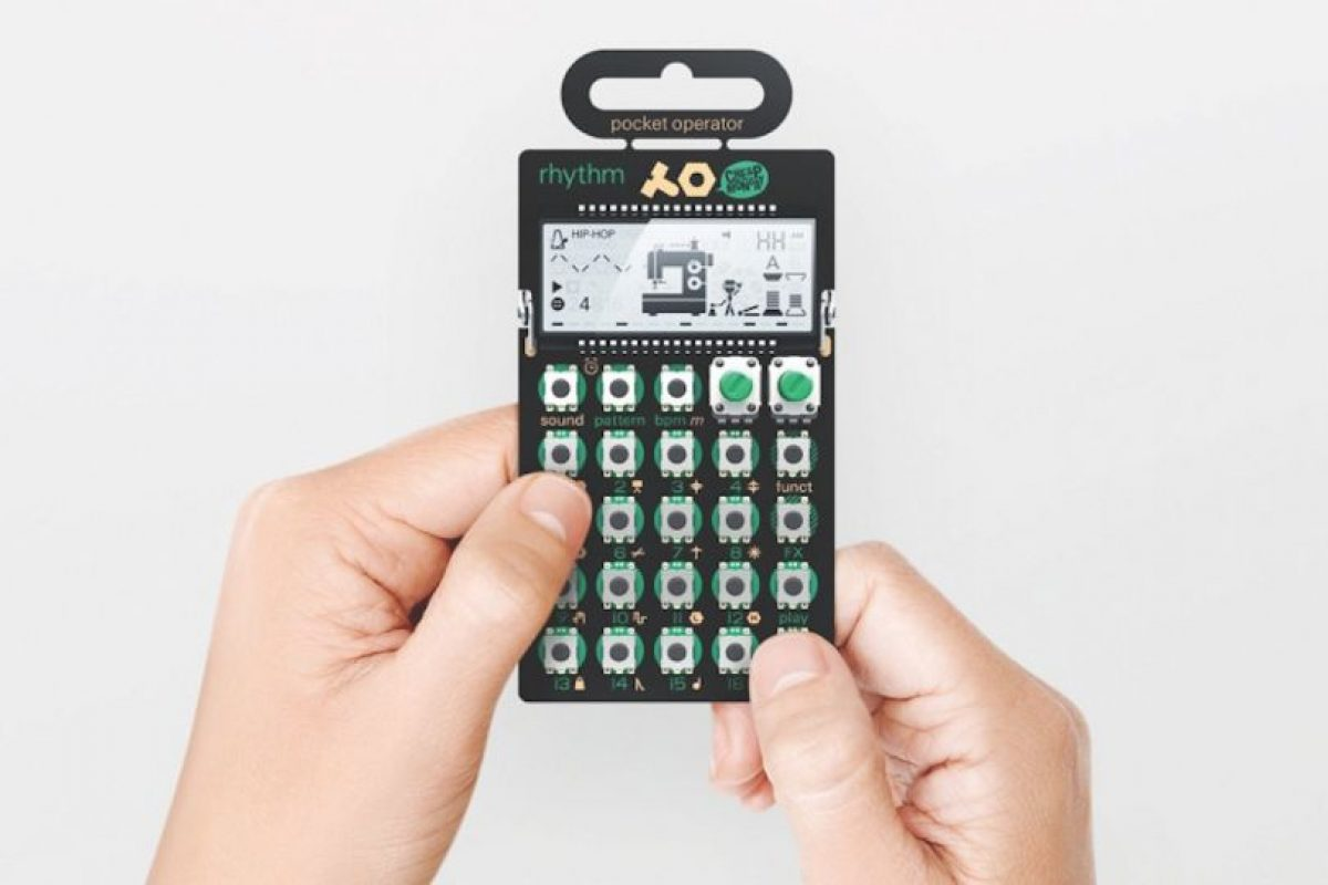 Pocket Operator Rhythm Foto: teenageengineering.com. Imagen Por: