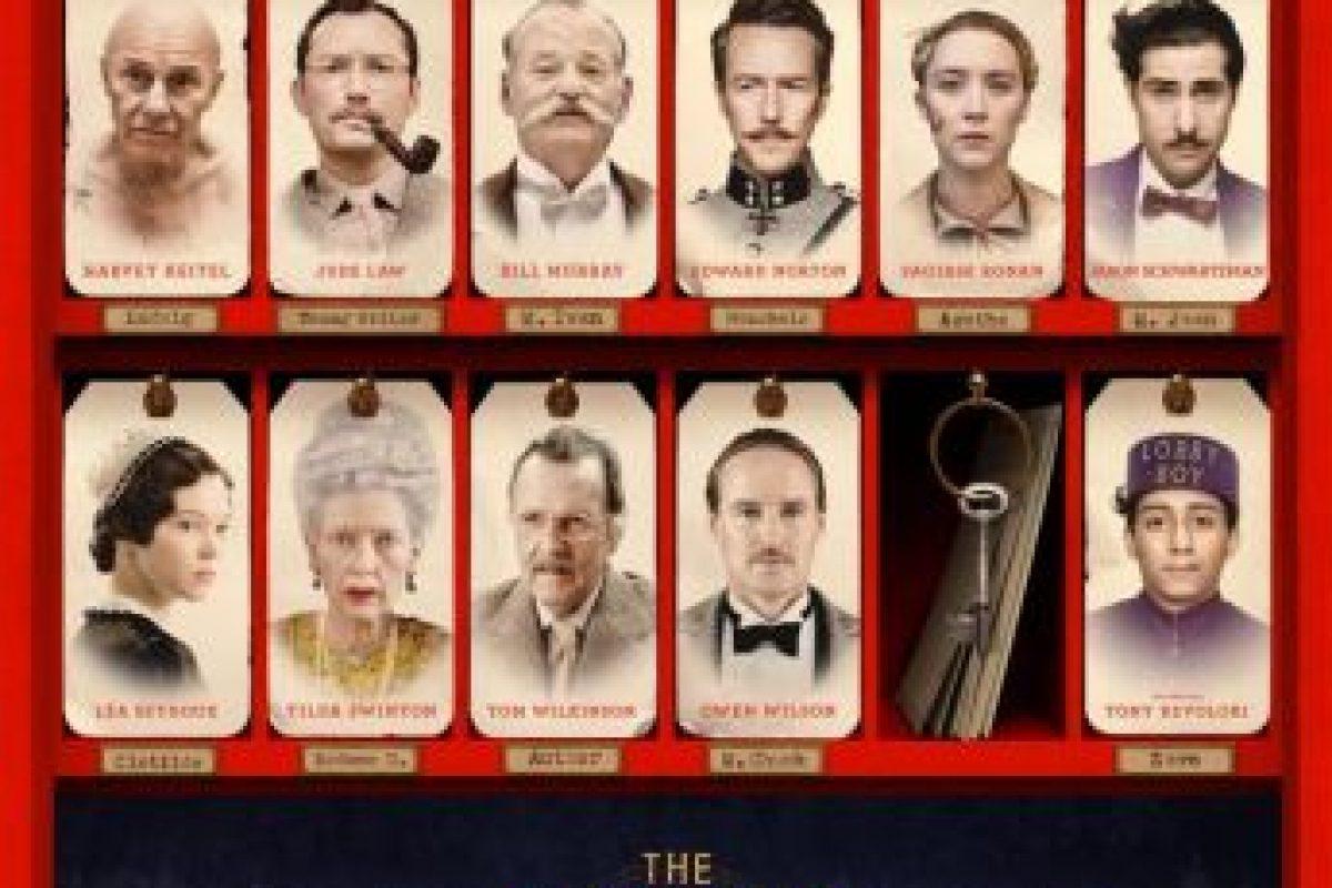 """El Oscar para Mejor Diseño de Vestuario fue para """"The Grand Budapest Hotel"""". Imagen Por:"""
