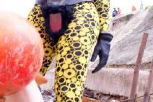 ABCDEFG HIJKLMN OPQRST UVWXYZ también trabaja como modelo fetiche Foto:Cortesía. Imagen Por: