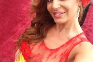 El vestido de Sonia Monroy, presentadora española, es el mayor ridículo de moda que se ha visto en los Oscar. Foto:Twitter. Imagen Por: