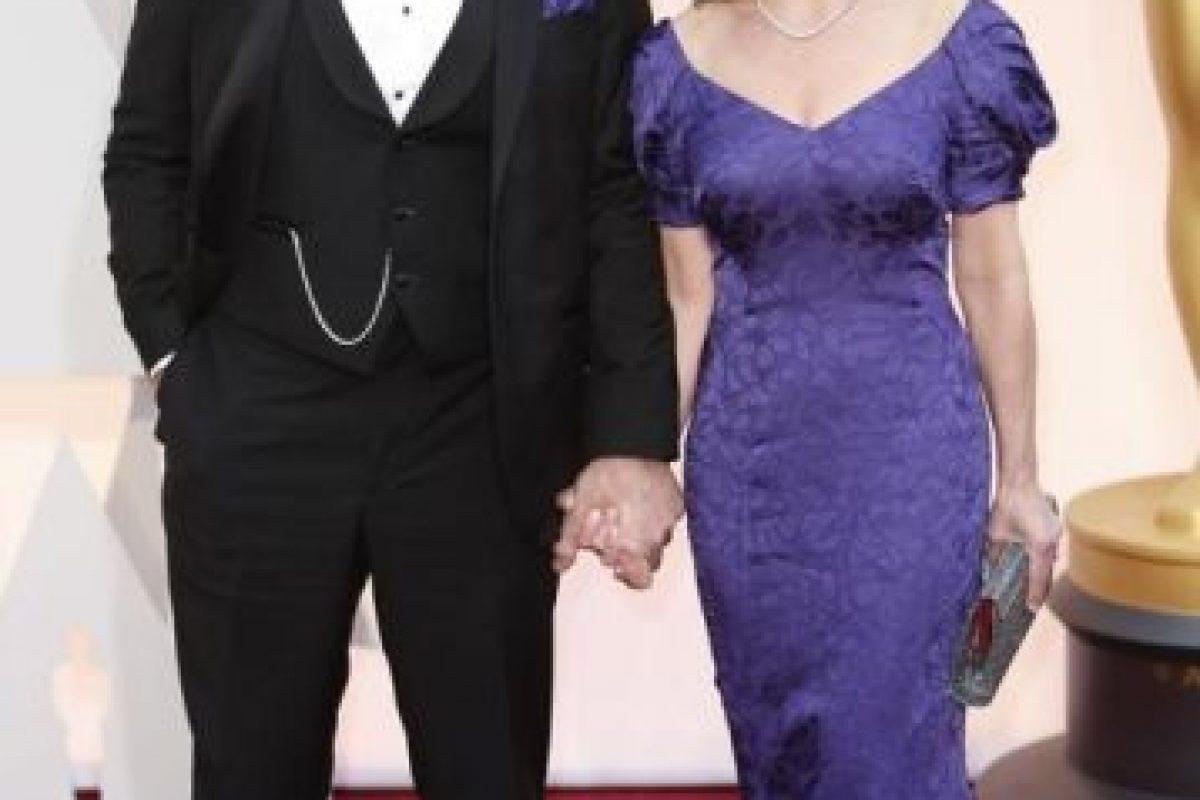 JK Simmons y su esposa, en los años 90. Foto:Getty Images. Imagen Por: