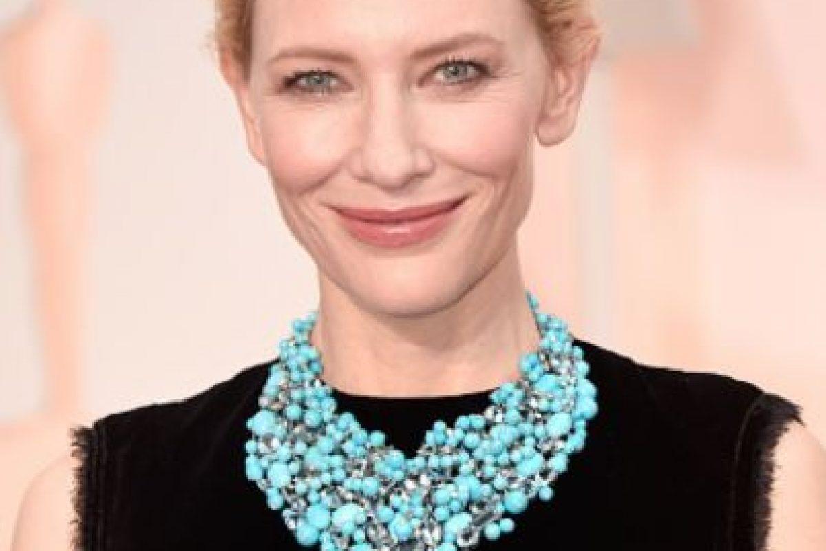 Cate Blanchett, de Armani. Foto:Getty Images. Imagen Por: