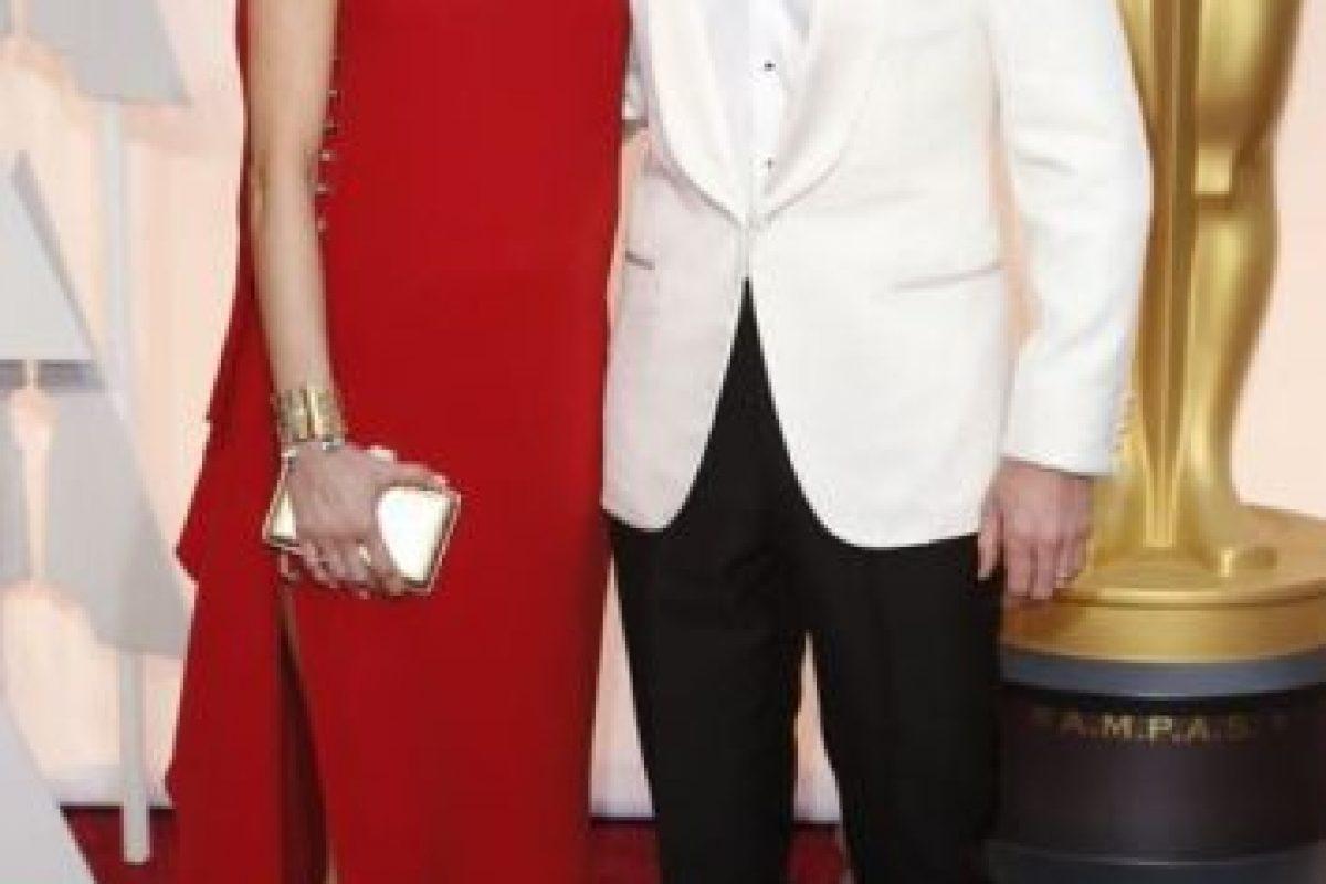 Benedict Cumberbatch y Sophie Hunter, sobriedad sin par. Foto:Getty Images. Imagen Por: