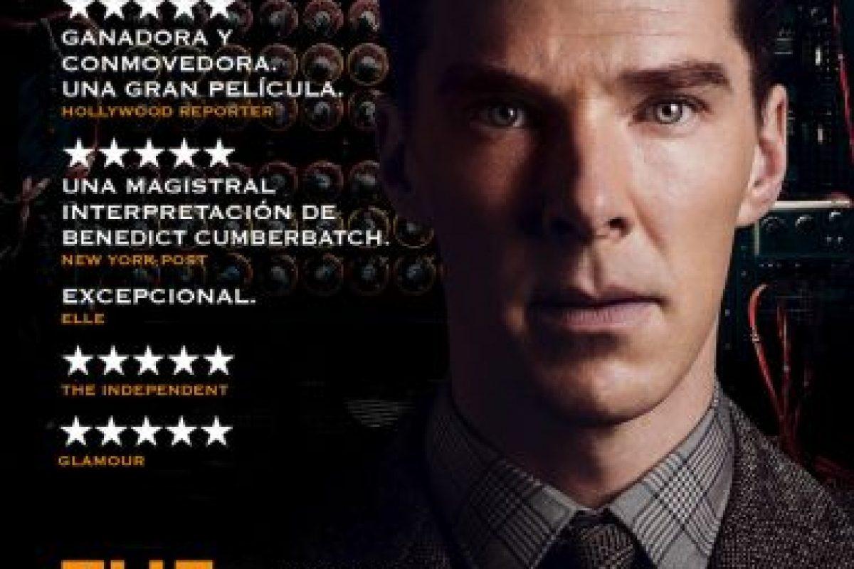 """""""The Imitation Game"""" se quedó con el Oscar a Mejor guión adaptado. Imagen Por:"""