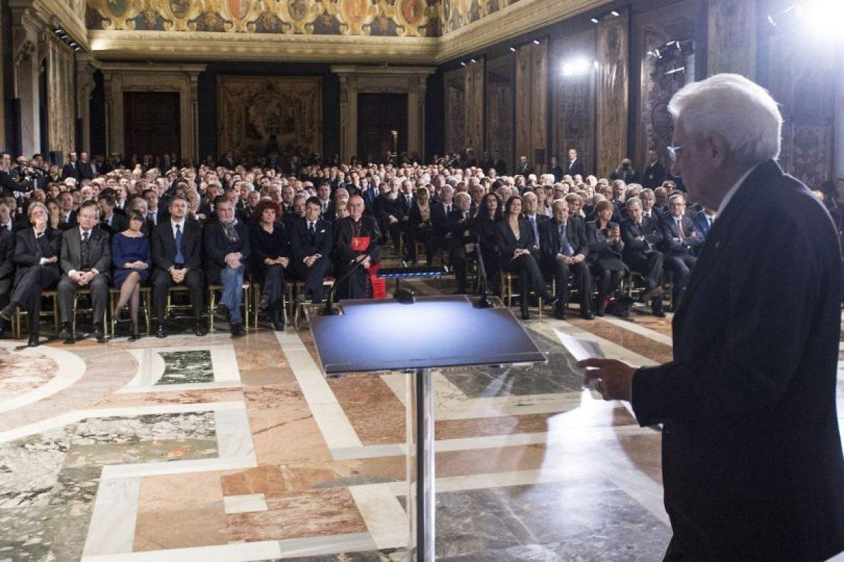Ahora tiene la tarea de sacar a flote la economía italiana. Foto:Getty Images. Imagen Por: