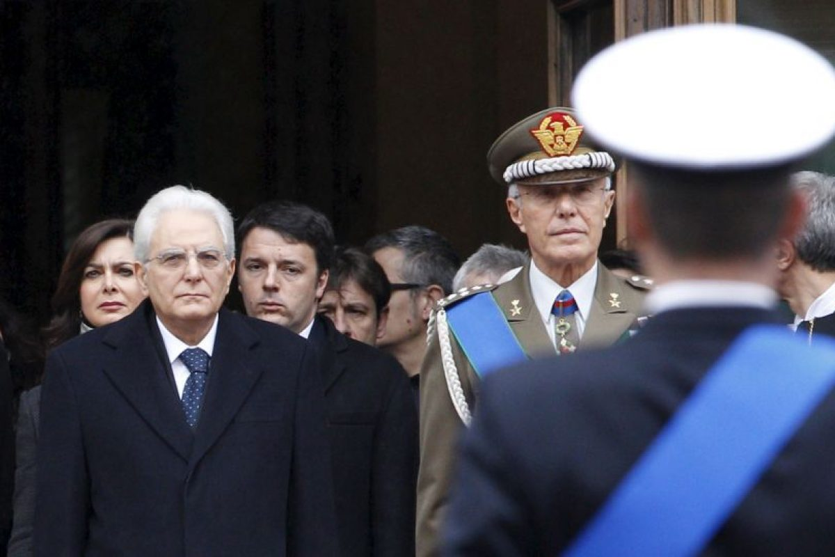 El 3 de febrero de 2015 se convirtió en Presidente de Italia. Foto:Getty Images. Imagen Por: