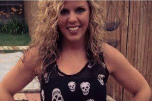 Whitney Fetters de 28 años, envió por lo menos 20 selfies mostrándose totalmente desnuda Foto:Twitter. Imagen Por: