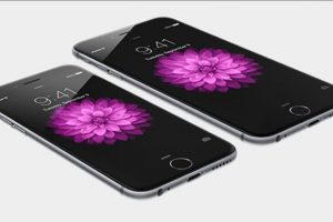 La pantalla del iPhone 6 y iPhone 6 Plus. Foto: Apple. Imagen Por: