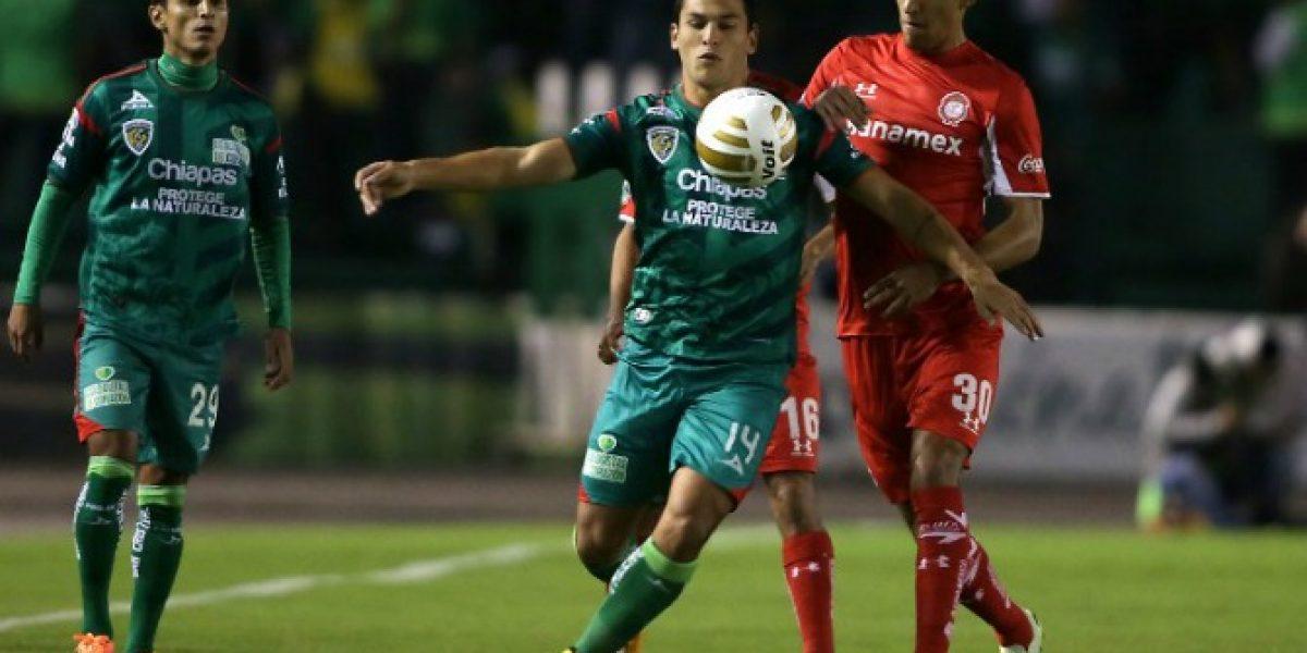 Isaac Díaz anotó doblete en triunfo de Jaguares de Chiapas sobre Pumas