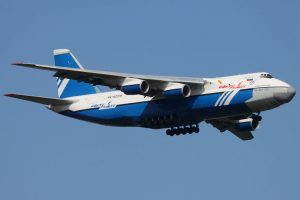 Antonov An-124. Envergadura: 73,3 metros Foto:Wikimedia. Imagen Por: