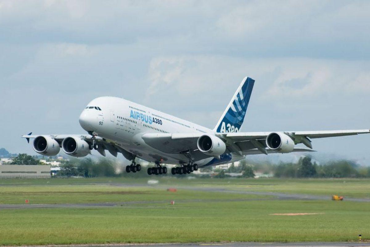 Airbus A380-800. Envergadura: 79,8 metros Foto:Wikimedia. Imagen Por: