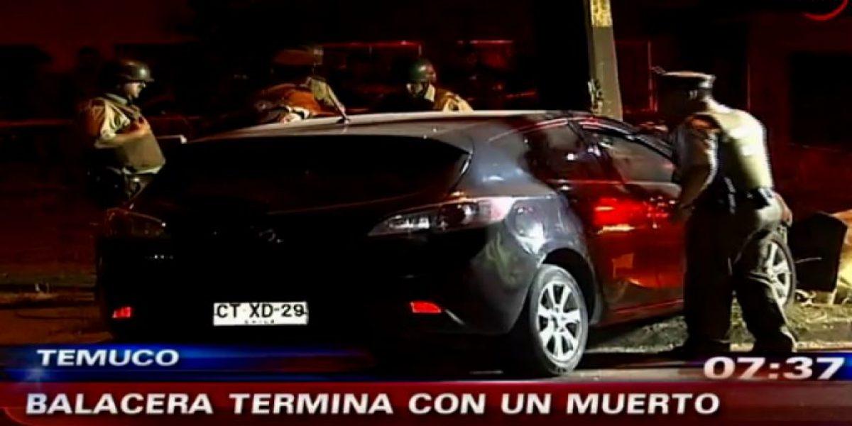 Identifican a joven que falleció tras eventual ajuste de cuentas en Temuco