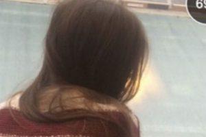 Hace una semana una pareja de estudiantes se metió al palco de prensa del Estadio Neyland de la Universidad de Tennessee para tener sexo y la imagen fue compartida en Snapchat Foto:Twitter. Imagen Por: