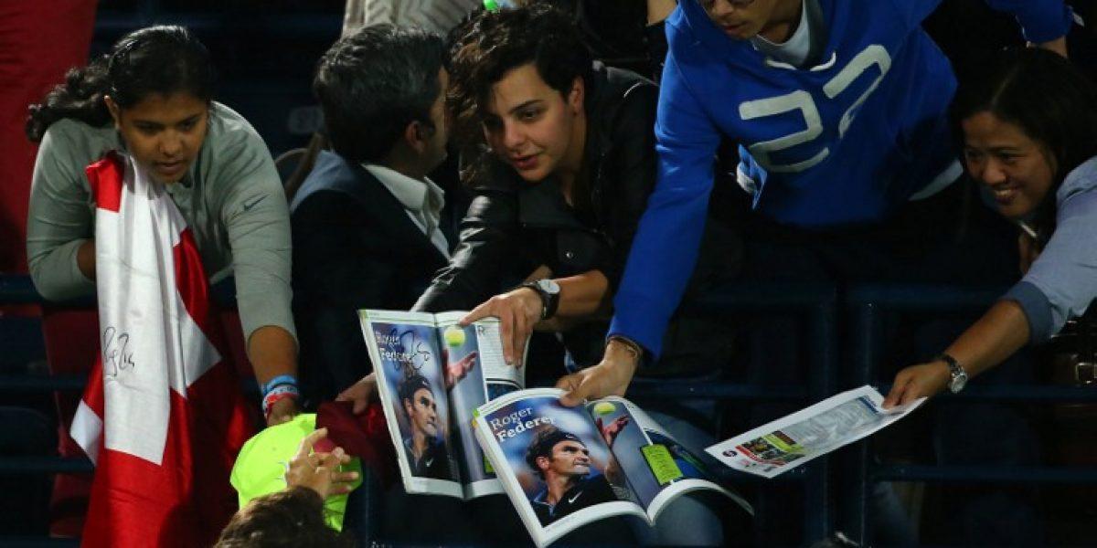 Roger Federer sólo necesitó 20 minutos para acceder a las semis en Dubai