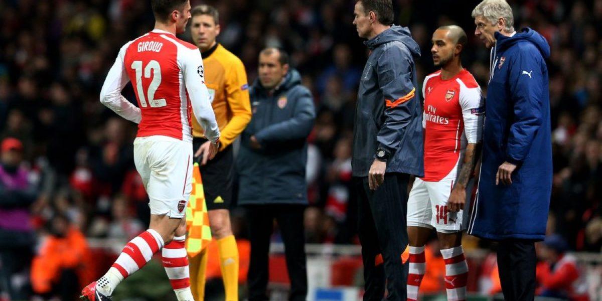 El gesto de Walcott que enfureció a los hinchas de Arsenal en la Champions
