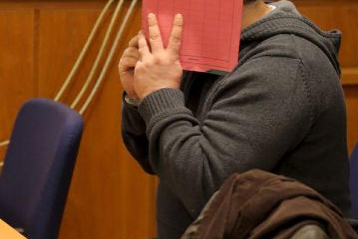 Imágenes del juicio contra Niels H, quien nunca mostró su cara Foto:Getty Images. Imagen Por: