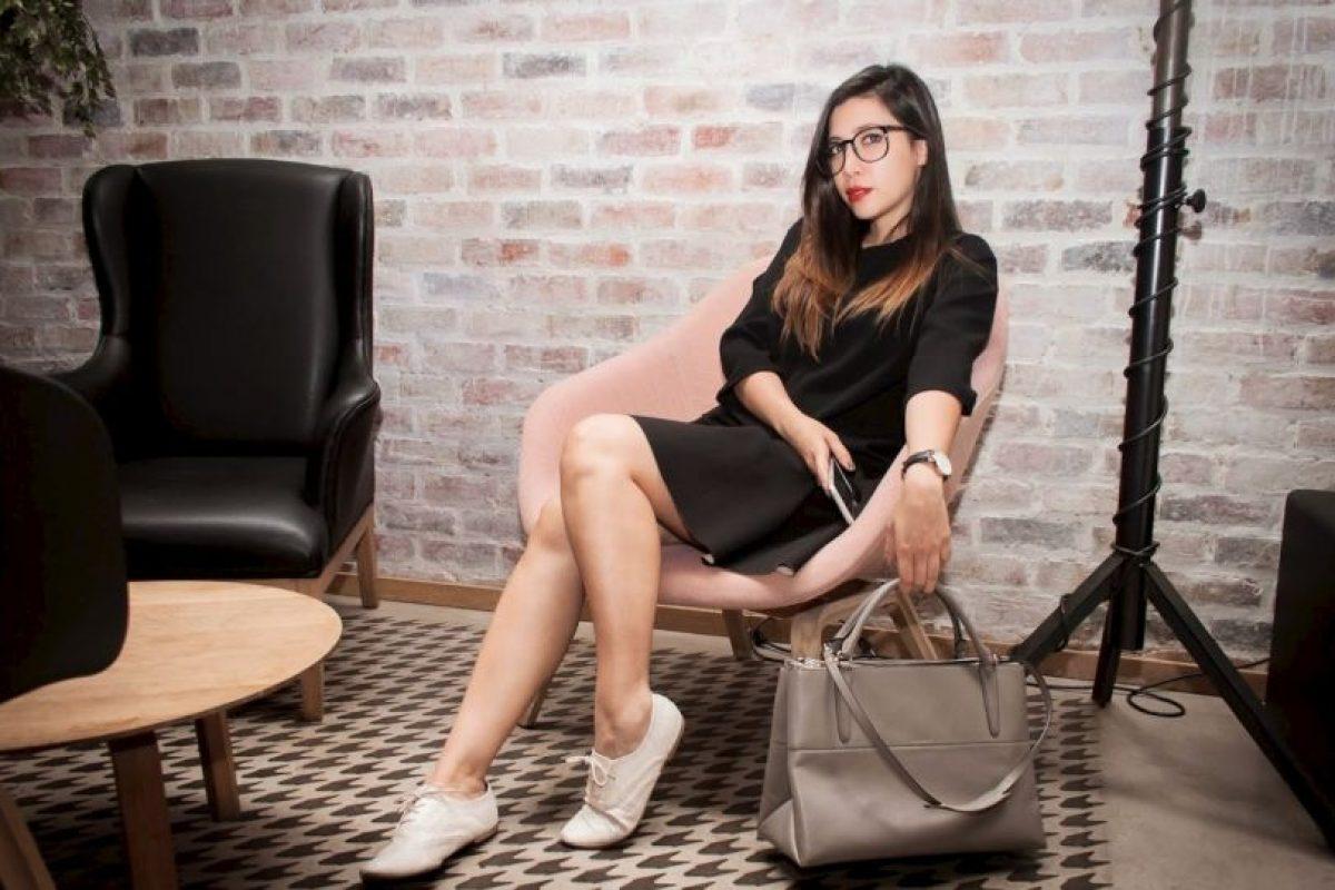 """Ángela Diez es colombiana y en la web se conoce como Ita María. Es la creadora del popular blog de moda """"De la Moda y Otros Demonios"""". Foto:Zico Rodríguez/De la Moda y otros Demonios. Imagen Por:"""