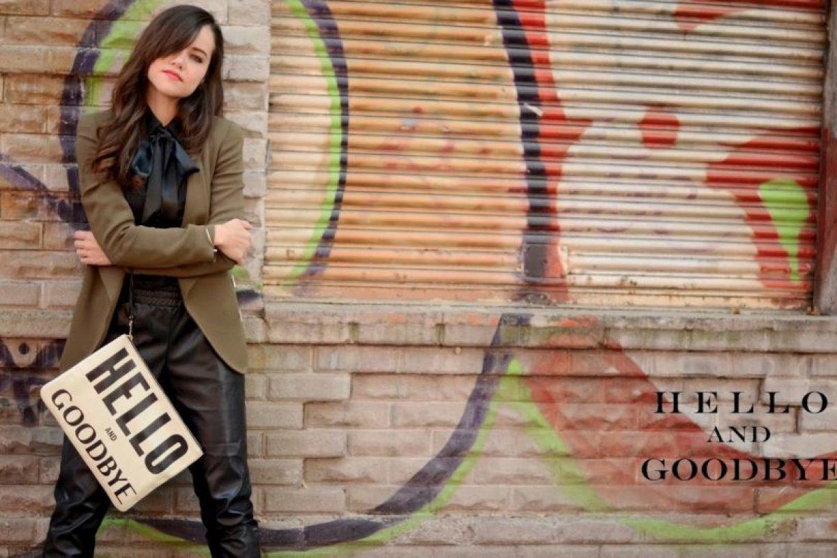 """Ella es Gaby Gómez, la popular bloguera de """"Moda Capital"""". Es mexicana y está en sus veintes. Foto:Moda Capital. Imagen Por:"""