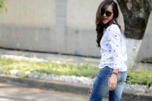 Su blog tiene 145 mil visitas al mes. Ella afirma que la ropa es un medio de expresión. Foto:Moda Capital.. Imagen Por: