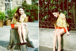 Afirma que lucir moda no se trata de marcas sino de actitud y personalidad. Foto:Miss Monroe. Imagen Por: