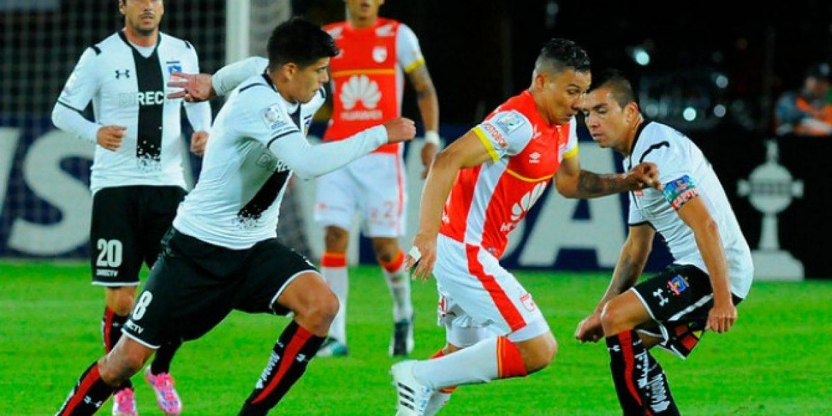 Prensa colombiana dice que Colo Colo no tuvo velocidad para dañar a Santa Fe