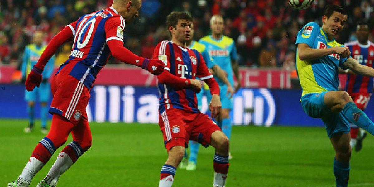 El Bayern golea otra vez y sigue acercándose a un nuevo título en la Bundesliga