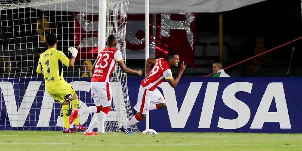 Un inocente Colo Colo cayó de forma inapelable ante Santa Fe por la Libertadores