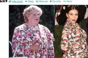 Incluso el difunto Robin Williams se burló de ella. Foto:Twitter. Imagen Por: