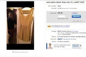 El vestido costó más de mil dólares Foto:Twitter. Imagen Por: