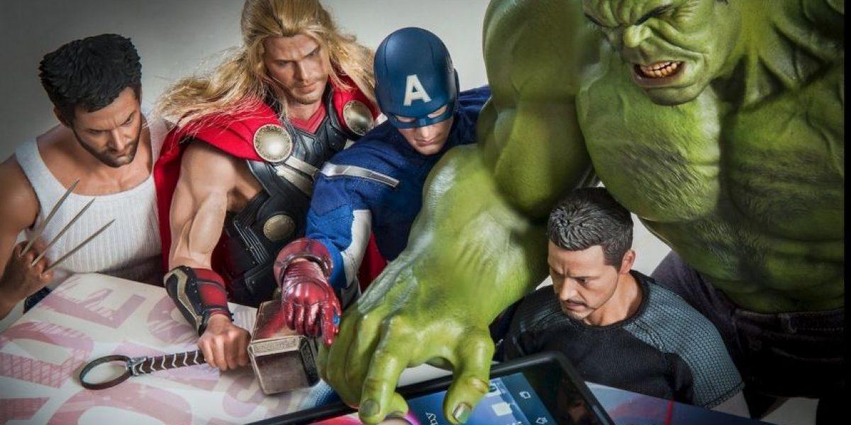 FOTOS: ¿Qué hacen? Estos superhéroes fueron captados en extrañas situaciones