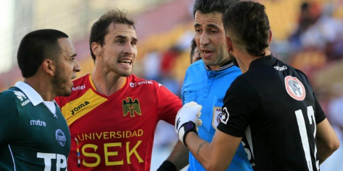 Críticas de todos lados se llevó Claudio Aranda por su arbitraje en el Unión-Wanderers