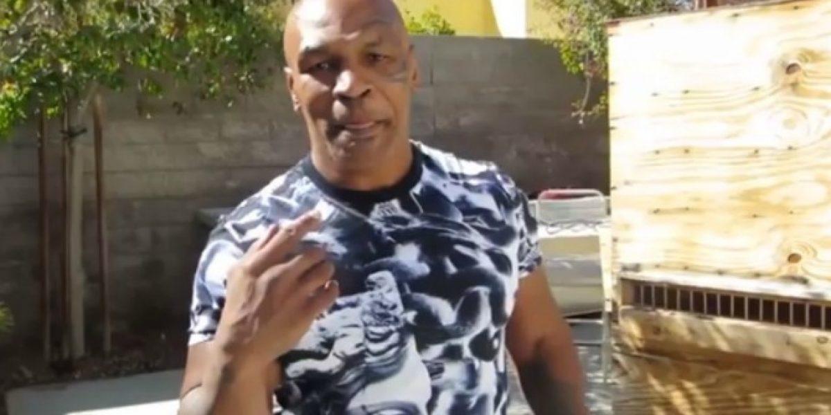 Video: Mike Tyson dio su pronóstico sobre la pelea entre Pacquiao-Mayweather