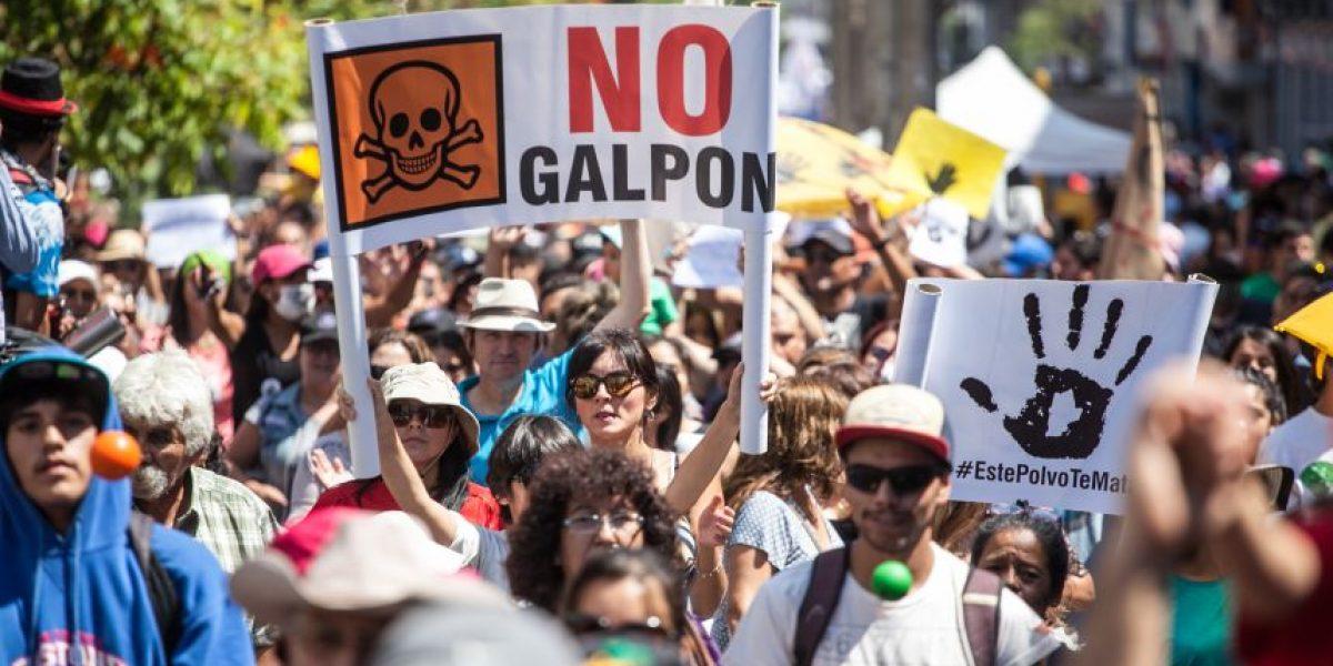 Masiva marcha por la contaminación en Antofagasta