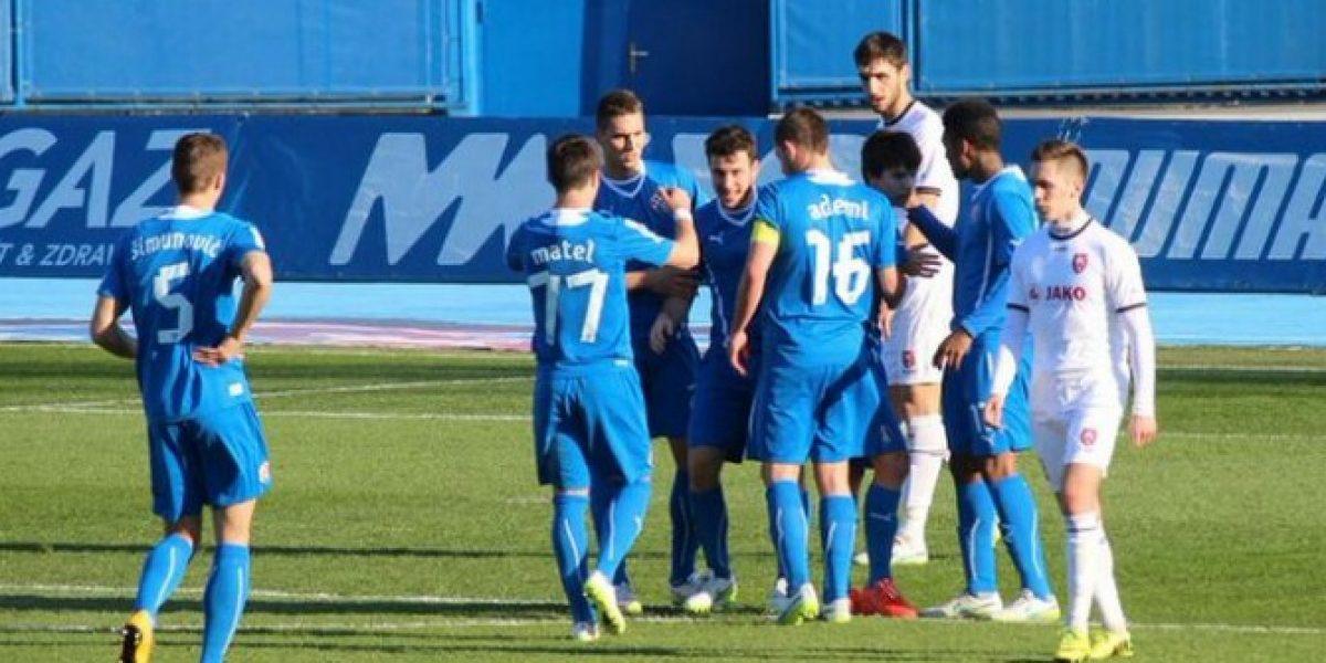 Henríquez anota dos goles en victoria del Dinamo y confirma que vive su mejor temporada