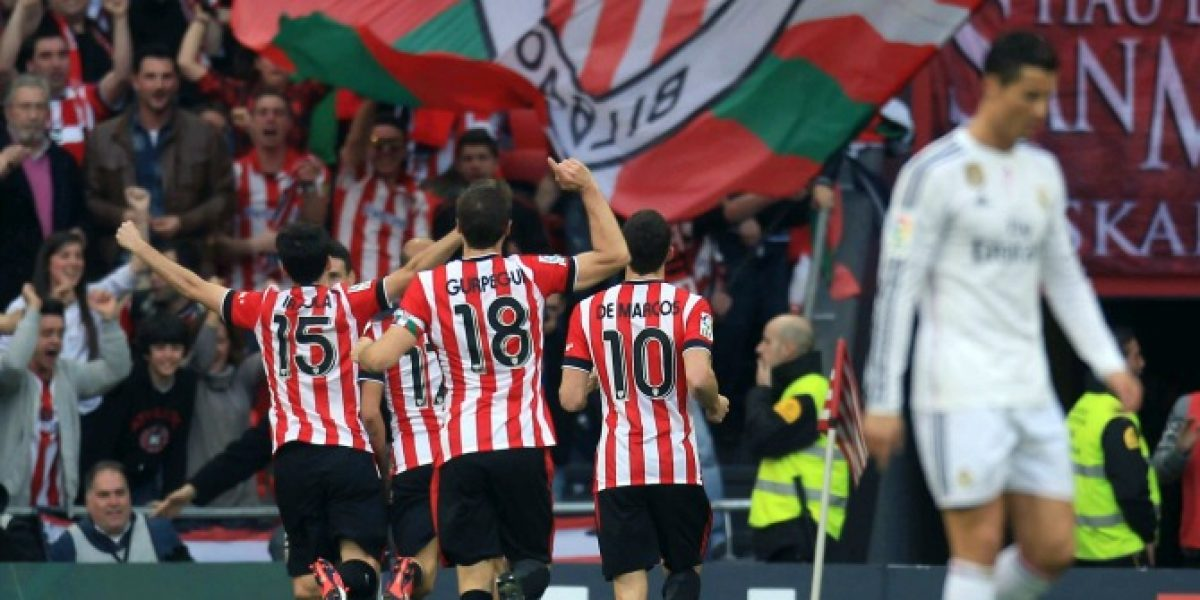 El Bilbao vence al Real Madrid y la parte alta de la Liga queda encendida