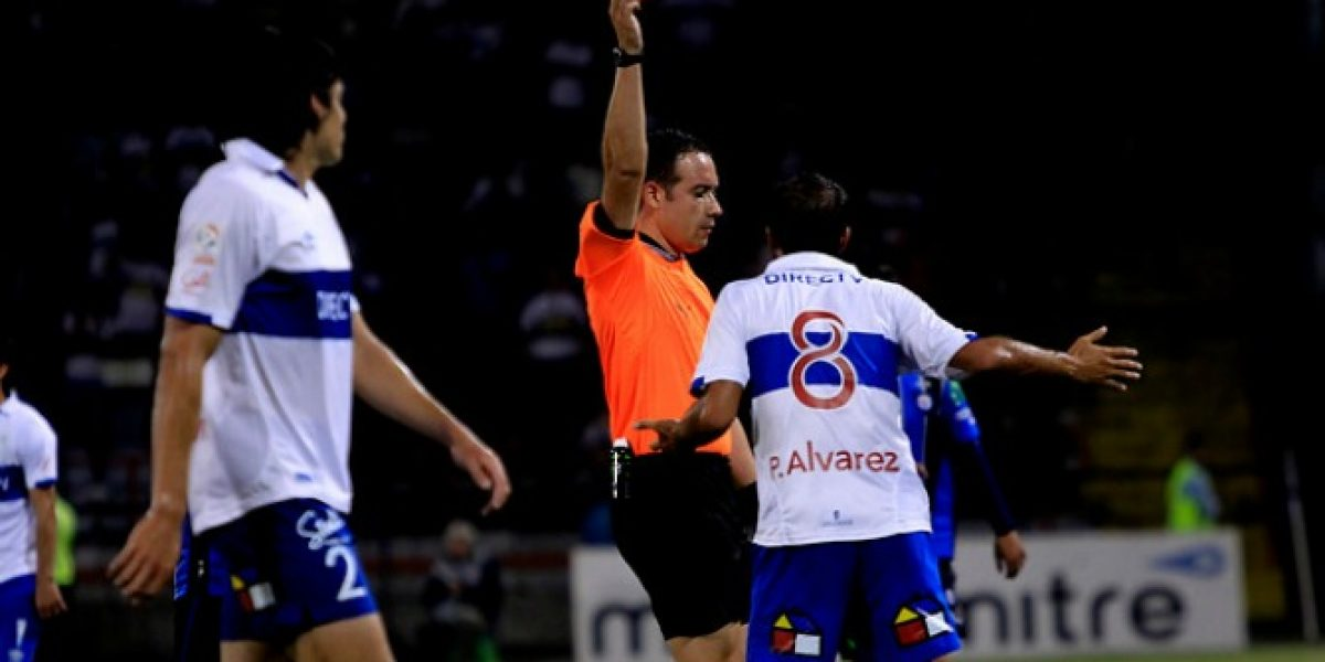 Otra vez los árbitros: Los hinchas se quejaron con todo contra Angelo Hermosilla