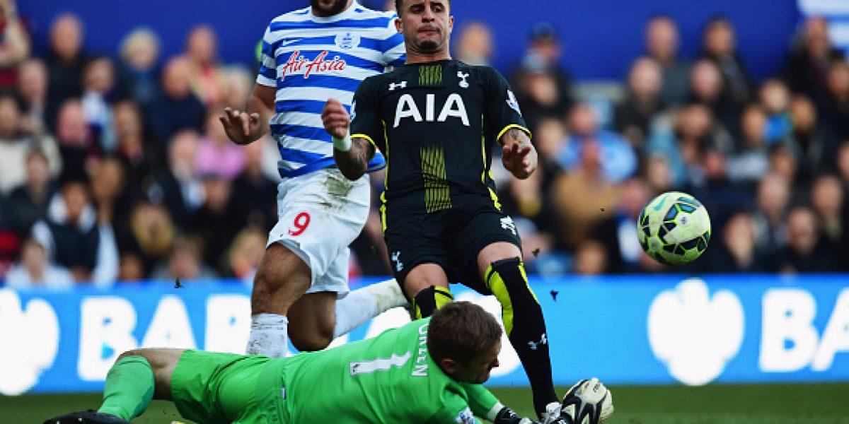 El QPR de Isla y Vargas no logra salir de zona de descenso tras caer ante Tottenham