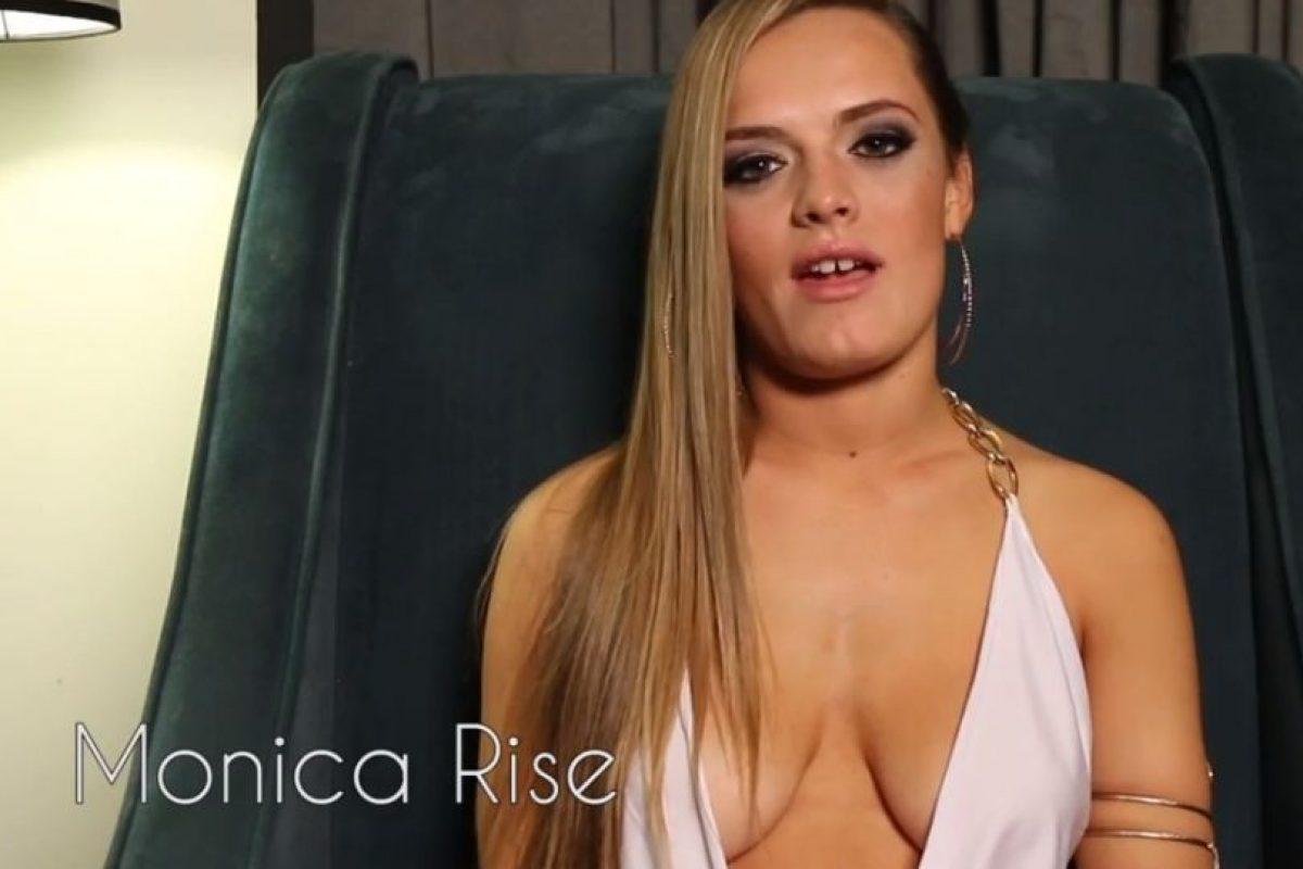 A Monica Rise le fue muy mal. Foto:Vince Mancini/ Youtube. Imagen Por: