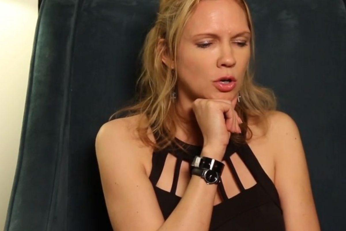 Tuvo sexo con suturas en su cuerpo. Obviamente maquilladas. Foto:Vince Mancini/ Youtube. Imagen Por: