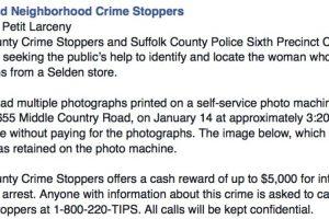 Dejó su selfie como evidencia. Darían hasta 5 mil dólares por la información. Foto:Facebook. Imagen Por: