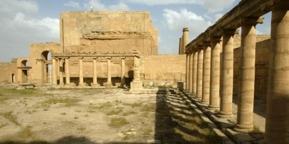 Impactantes imágenes de la destrucción de la antigua ciudad iraquí de Hatra por Estado Islámico