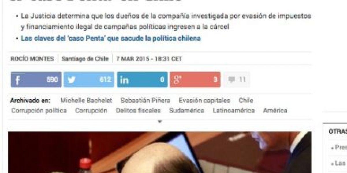 Galería: Así cubre la prensa internacional el #CasoPenta